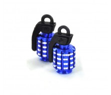 Wheel Cap CNC Blue