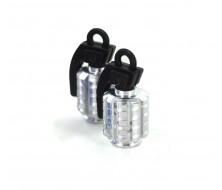 Wheel Cap CNC Silver