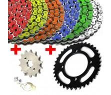 Pack Chain + Rear Sprocket + Sprocket