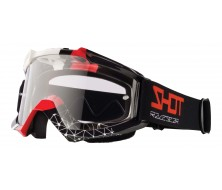 Protection visage Cross SHOT Assault Beyound Noir/Rouge