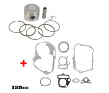 Pack Piston/Pochette 125cc Lifan