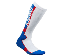 Chaussette KENNY RACING MX TECH 39/42 Bleu/Blanc/Rouge