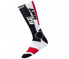 Chaussette KENNY RACING MX TECH 39/42 Rouge/Blanc/Noir