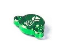 Capot de maitre cylindre de frein arrière CNC Vert