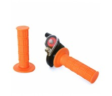 Quick Throttle + Grips Orange