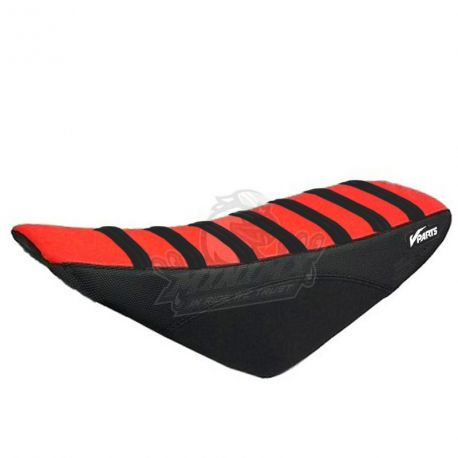 Seat Cover CRF50 VPARTS Black/Red
