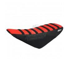 Housse de Selle Vparts CRF50 Noir/Rouge