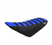 Seat Cover KLX Black/Blue (Lucas Oil Special Edition)
