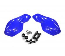 Proteges mains renforcés Bleu Dirt Bike