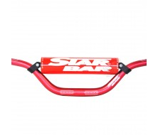 Guidon Fatbar StarBar 28,6mm Rouge