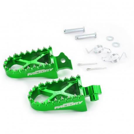 CNC Foot Peg YCF Green
