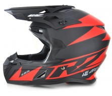 Off Road Helmet CRZ Red (S, M, L, XL)