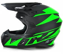 Off Road Helmet CRZ Lime (S, M, L, XL)
