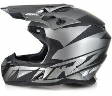 Off Road Helmet CRZ Silver (S, M, L, XL)
