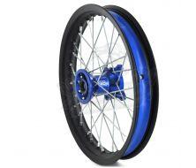 """CNC Rims FABA 14"""" Front CNC Blue"""