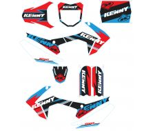 Graphic Kit KENNY Racing blue/green CRF110