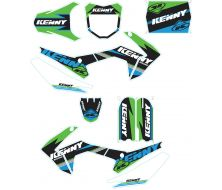 Graphic Kit KENNY Bue/Green CRF110-S