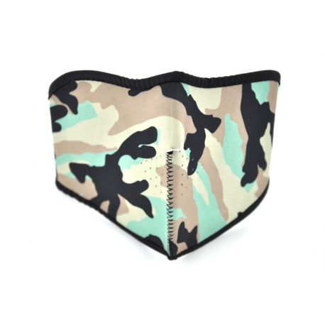 MASQUE DE PROTECTION VISAGE TYPE MILITAIRE