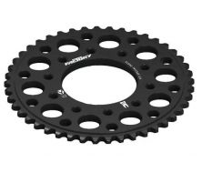 Rear Sprocket 420 CNC Black YCF 5 hole (41, 43, 45 Teeth)