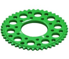 Rear Sprocket 420 CNC Green YCF 5 hole (41, 43, 45 Teeth)