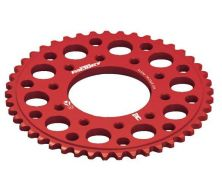 Rear Sprocket 420 CNC Red YCF 5 hole (41, 43, 45 Teeth)