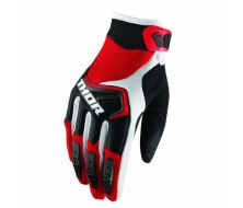 Gants Cross THOR Spectrum Noir Rouge (S,M,L)