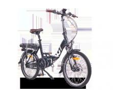 Vélo électrique pliant VG British Vert Anglais (13/17Ah)