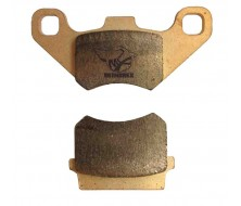 High Resistance Brake Pads for Single Front Pot Caliper 74/7