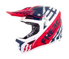 Casque SHOT Kid OUTLAW Bleu/Rouge