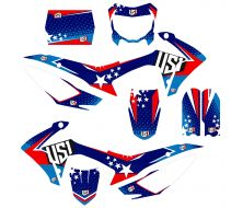 Graphic Kit USA CRF110