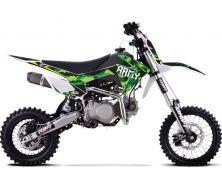 """Dirt Bike 140cc YX 14""""/17"""" DRIFT ARMY Grande Roue"""
