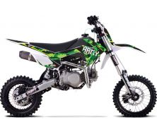 "Dirt Bike 140cc YX 14""/17"" DRIFT ARMY Grande Roue"