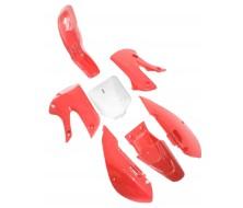 Plastics Kit KLX Red