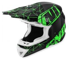 Off Road Helmet NO-END Origami Noir/Vert