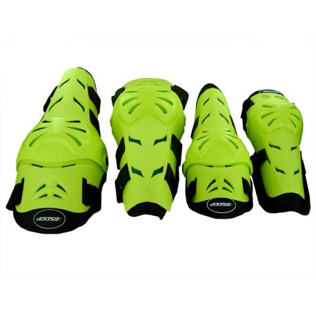 PACK PROTECTION GENOUILLERE/COUDIERE VERT