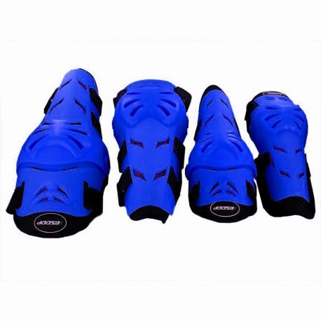 PACK PROTECTION GENOUILLERE/COUDIERE BLEU