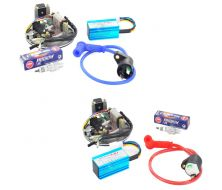 Complete Set Racing Magneto YX + Spark CR7HIX NGK + Coil Line + CDI RACING
