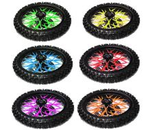Spoke Cover Green Fluo