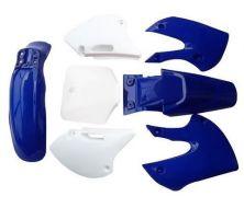Kit Plastique KLX BBR Bleu