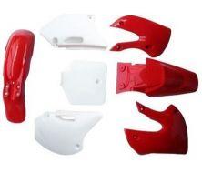 Kit Plastique KLX BBR Rouge