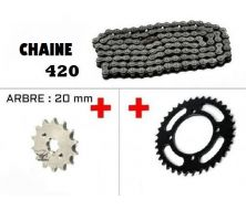 Configurator Transmission 420 + Engine Sprocket + Rear Sprocket (125cc LIFAN)