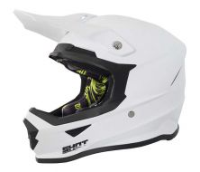 Off Road Helmet SHOT Furious uni blanc glossy