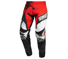 PANTALON SHOT SHADOW RED/WHITE