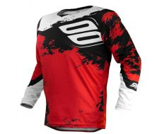 MAILLOT SHOT SHADOW RED/WHITE