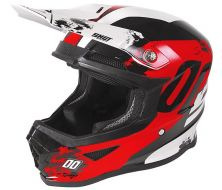 CASQUE SHOT KID SHADOW RED-WHITE GLOSSY