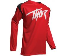 Maillot THOR MX Sector Link Rouge