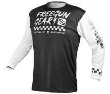 MAILLOT FREEGUN BY SHOT SPEED WHITE