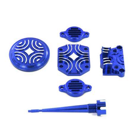 Kit Habillage Moteur CNC Bleu