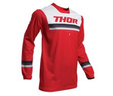 Maillot THOR Pulse Pinner Rouge