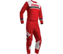 Pack Maillot + Pantalon THOR Pulse Pinner - Rouge